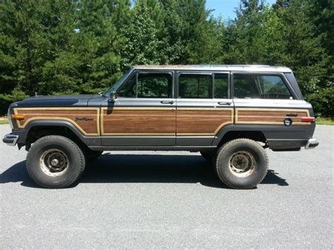 1989 jeep wagoneer lifted purchase used 1989 jeep grand wagoneer base sport utility