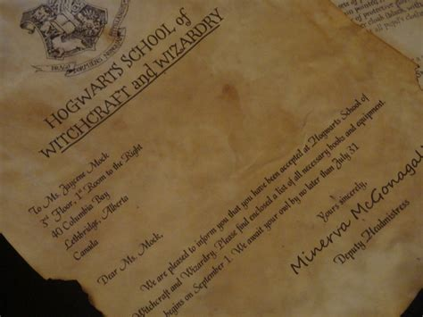 Acceptance Letter For Equipment 17 Best Images About Hogwarts Acceptance Letter On Trips Shops And Hogwarts