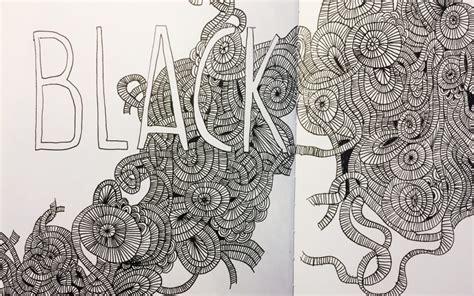 doodle zeichnen ideen zum zeichnen doodle prompt gestreifte schlangen