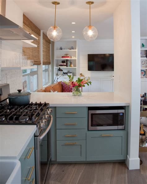 Small Kitchen Design With Peninsula Kitchen Peninsula Designs That Make Cook Rooms Look Amazing