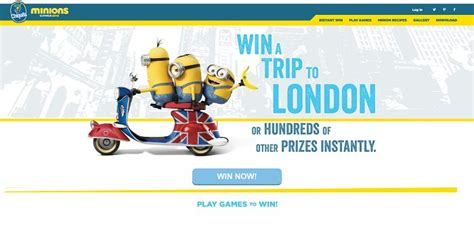 Minions Love Bananas Instant Win - chiquita minions summer 2015 sweepstakes and instant win game minionslovebananas com