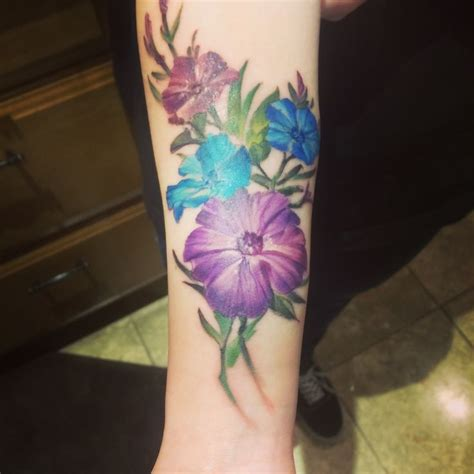 petunia tattoo best 25 petunia ideas on new zealand