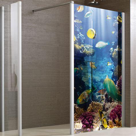 adesivi per box doccia adesivi follia adesivo traslucido per box doccia pesci