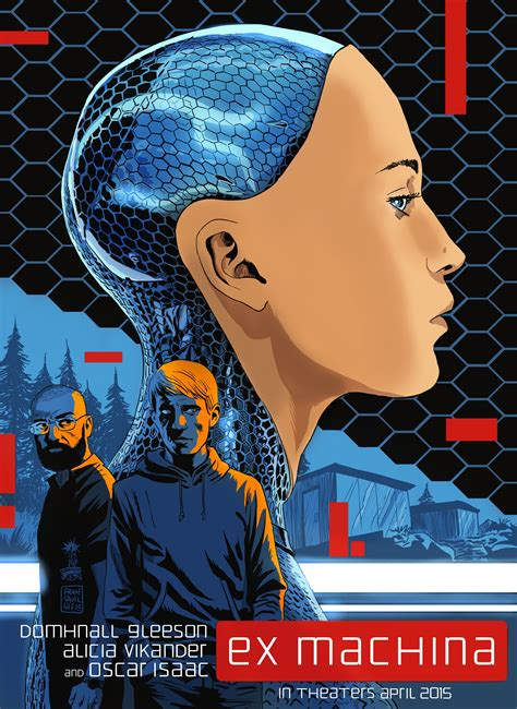 ex machina 2015 movie poster 5 scifi movies new clips and posters from alex garland s ex machina