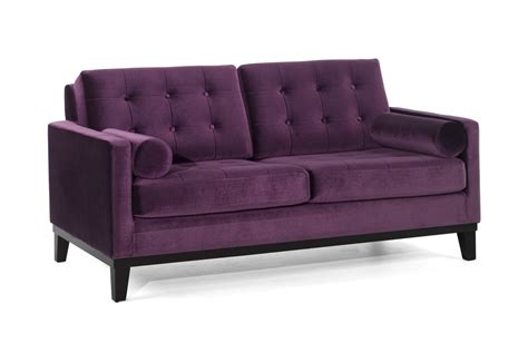 purple velvet couch armen living centennial sofa set purple velvet lc7253pu