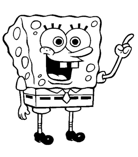 print spongebob coloring sheet archives