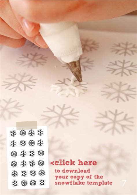 printable snowflake template for royal icing best photos of snowflake templates for cakes chocolate