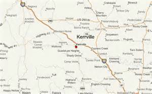 kerrville map kerrville location guide