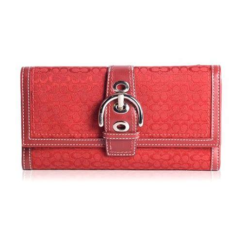 Coach Checkbook Wallet 10 coach mini signature checkbook wallet