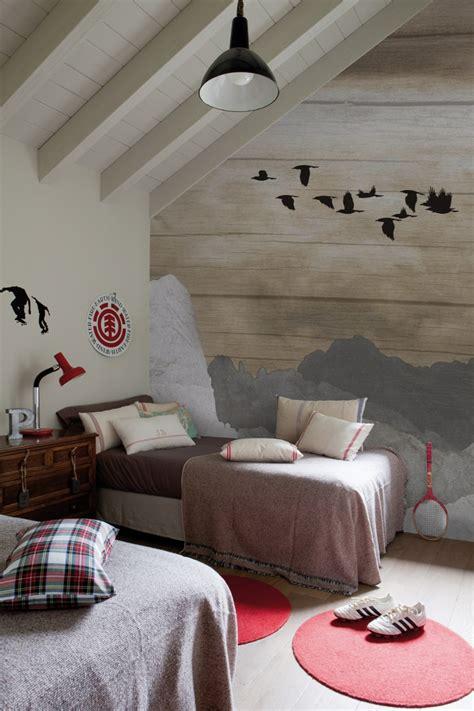 tapeten für schlafzimmer wohnzimmer graue wandfarbe