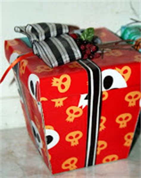 nightmare before gift wrap with nightmare before presents
