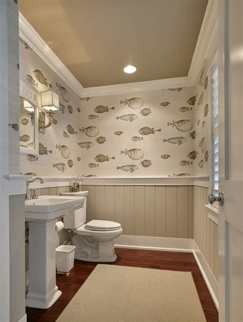 bathroom wallpaper india 33 wainscoting ideas with pros and cons digsdigs