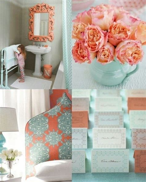 seafoam green and coral bedroom coral and seafoam green decor pinterest