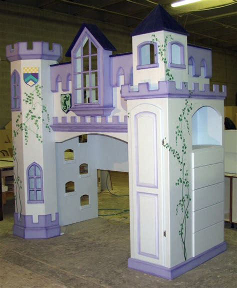 bunk beds castle kid s bedroom bunk beds with two towers and a castle theme