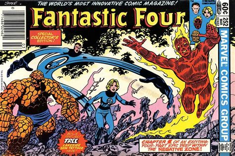 best fantastic four comics marvel comics of the 1980s 1983 fantastic four 252