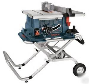 new bosch 4000 09 10 quot worksite table saw wheeled stand
