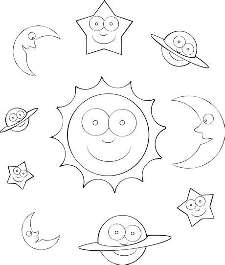 space coloring pages for kindergarten solar system color sheet for pre k kindergarten free