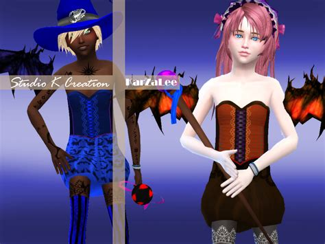 Sims 4 Halloween Costumes | my sims 4 blog halloween costumes for boys and girls by