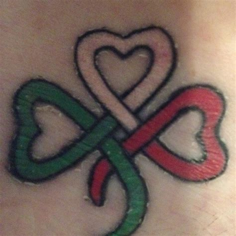 my irish italian heritage tattoo tattoos pinterest