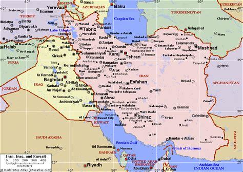 kuwait iraq map map of iraq kuwait iran pictures to pin on
