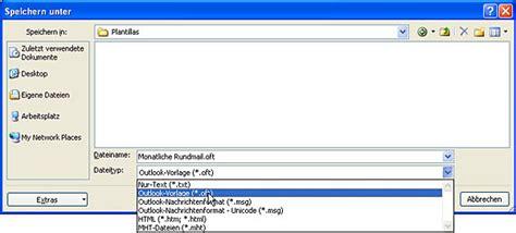 Word Vorlage In Outlook Einbinden E Mail Vorlage In Outlook Zeit Und Nerven Sparen