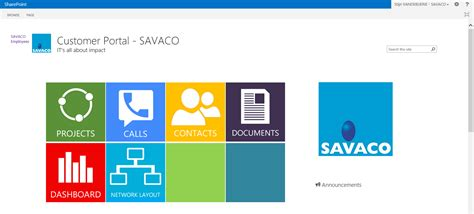 Intranet Extranet Savaco Sharepoint Erp Template