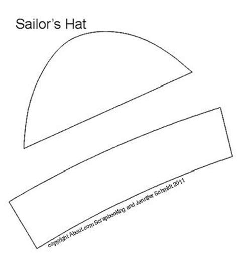 Make Paper Sailor Hat - 17 best images about 7e sailor hats on