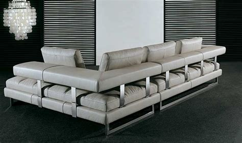 italian leather sofa pl0071 by planum sectionals