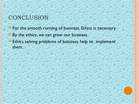 Pom Study For Mba Students by Business Ethics Grp In Pom