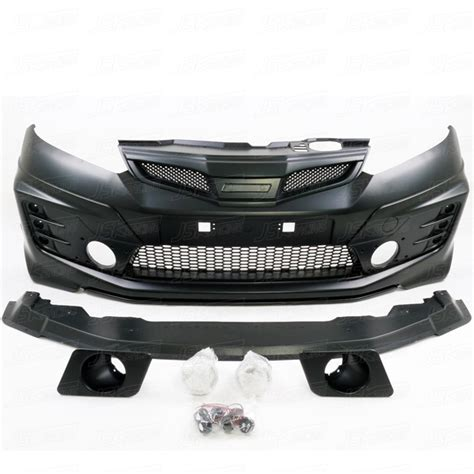 Grill Custom Honda Jazz 2012 Mugen Tipe Racing for honda fit kit for mugen style pp kit bodykit for 2009 2012 honda jazz fit buy