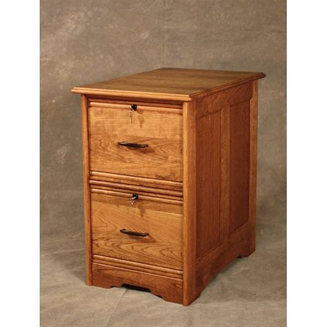 File Cabinets Wood 2 Drawer by Wood Revival Cherry Wood 2 Drawer File Cabinet 14039444