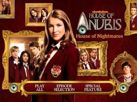 house of anubis season 1 house of anubis season 2 vol 1 quot house of nightmares quot dvd main menu youtube