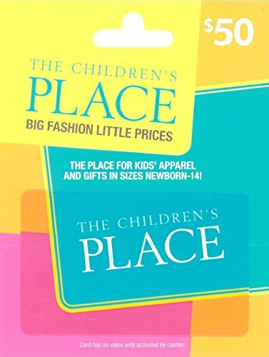 Places To Buy Amazon Gift Cards - amazon lightning deal the children s place 50 gift card