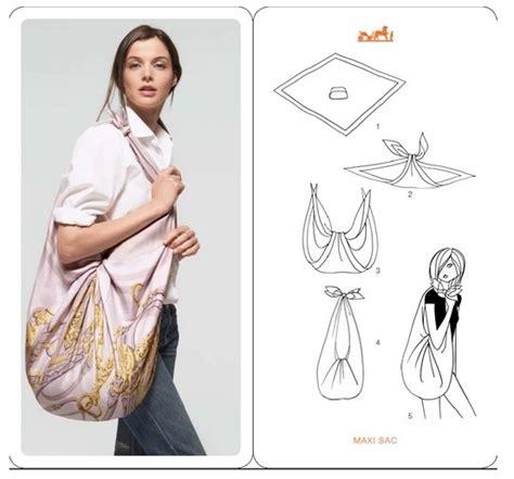 a scarf into a hobo purse in 5 steps shopfairtrade