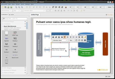 pencil project network diagram visio entity relationship modeling software ask ubuntu