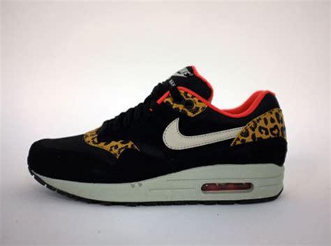 Airmax One Leopard nike wmns air max 1 leopard pack le site de la sneaker