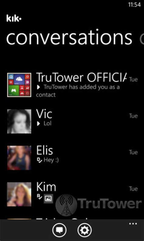 Kik Address Finder Finding Your Friends On Kik Messenger For Android Ios Or Windows Phone Trutower