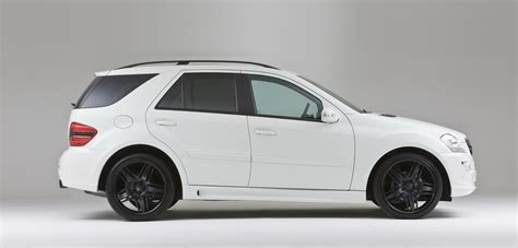 cars white lorinser ml black white car tuning