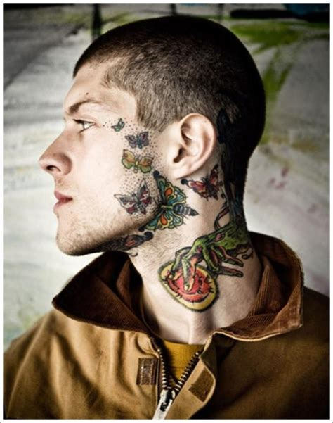 mens neck tattoos 40 jaw dropping tattoos that will shock you