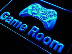 neon room signs room controller neon sign decor