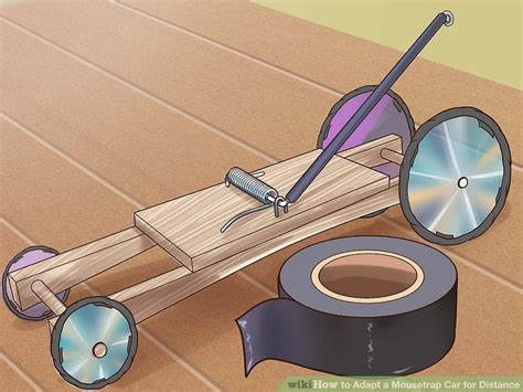 How Do You Make A Car Out Of Paper - 3 easy ways to adapt a mousetrap car for distance wikihow