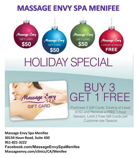 Massage Envy Gift Cards - 83 holiday fitness specials holiday deals resistance exercise bands rubber stretch