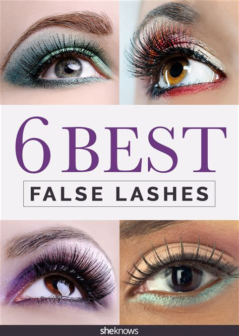 best lashes 6 best false eyelash sets according to a pro makeup artist