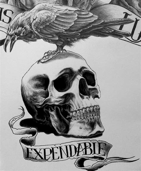 the expendables tattoo designs expendables logo by damyanov on deviantart