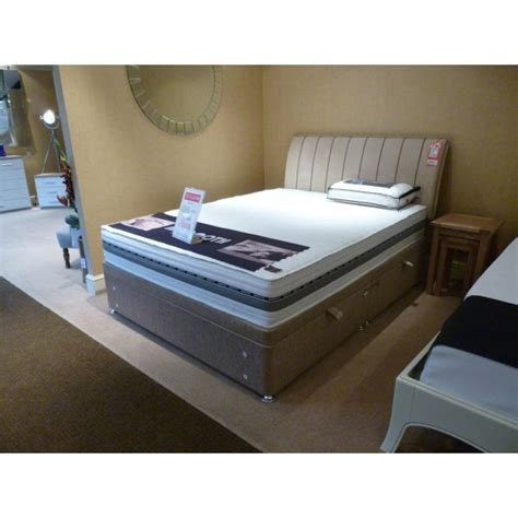 king size ottoman bed with mattress mammoth performance 22 king size mattress ottoman base