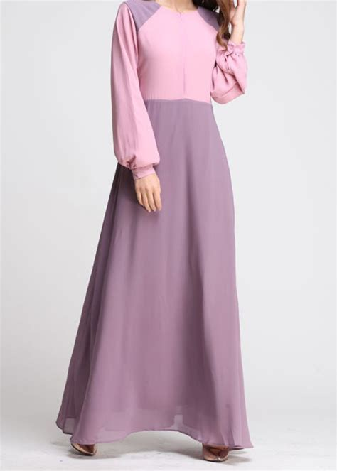Dress Pakaian Wanita Baju Wanita 6 norzi beautilicious house nbh0493 intishar jubah nursing friendly