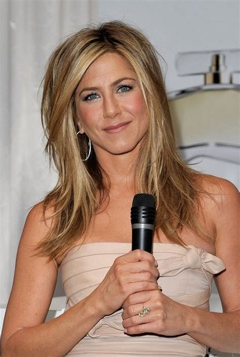 jennifer aniston half up half down hairstyles jennifer aniston medium layered hairstyle hairstyles weekly