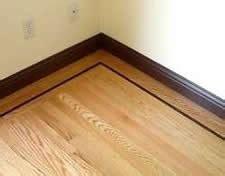 Hardwood Floor Border Design Ideas Installing Hardwood Flooring Borders Series