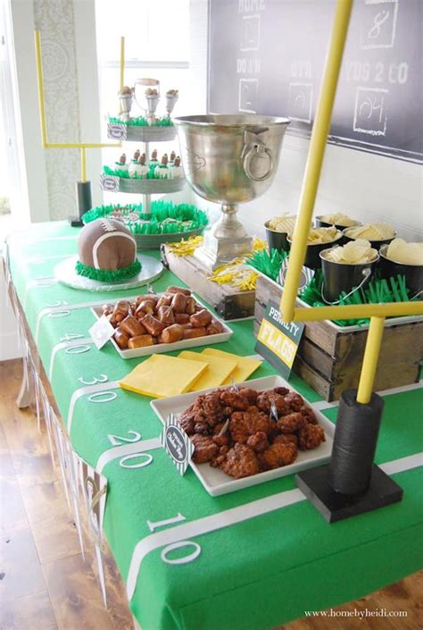 themed food events best 25 football party favors ideas on pinterest sports