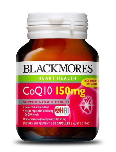 Temptation Sel Coenzyme Q10 Eye blackmores coq10 150mg blackmores